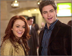 Chris Pine, who played Lindsay Lohan's love interest in Just My Luck, will play the young James Kirk in J.J. Abrams' film Star Trek.