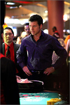 Say what?: Lloyd Owen plays a singing convenience-store owner who wants to open a casino.