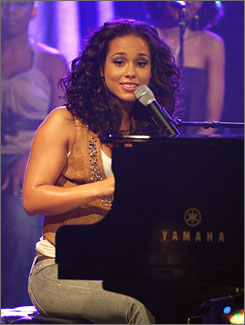 R&B star Alicia Keys will perform at the Nobel Peace Prize Concert Dec. 11.