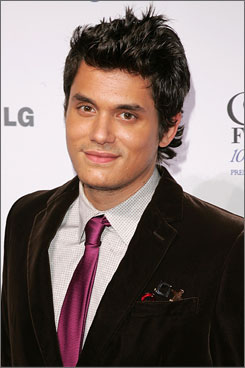 Who's that girl?: Rock star John Mayer has been hanging out with lesser-known TV star Minka Kelly, below, as of late.