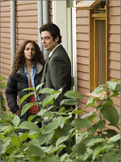 Halle Berry and Benicio Del Toro: She has lost her husband. He has lost his recovery battle with heroin.