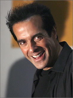 An unidentified woman has accused David Copperfield of forcing himself on her.