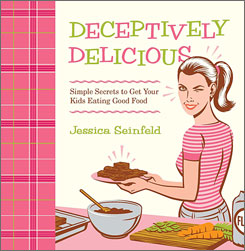 Jessica Seinfeld's book zoomed up the best-seller lists after its release last week.