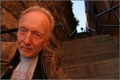 Face rings a bell: Tobin Bell is back in Saw IV.