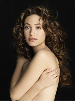 """I call it ambient pop"": Emmy Rossum's  debut album is Inside Out."