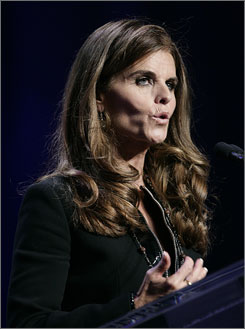 Maria Shriver says she knew TV news had changed after the incessant media  coverage of Anna Nicole Smith's death.