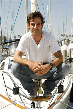 Smooth sailing: Heroes star Adrian Pasdar says he would have been fine with his character, Nathan Petrelli, going out with a bang.