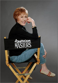 Comedy Master: Carol Burnett biography explores TV, film, stage work.