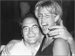 Big spenders: Rob and Nancy Kissel (circa 2000), as seen in the book.