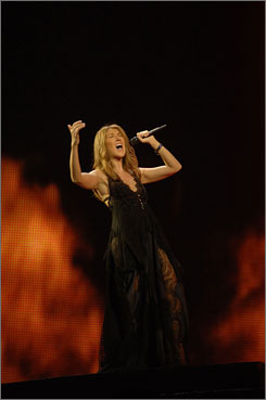 Heart, and music, will go on: Celine Dion?s Taking Chances marks  the end of her Vegas run and the beginning of her tour.