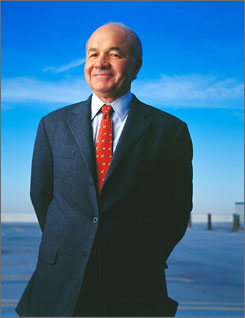 A scandal: Enron CEO Kenneth Lay helped create financial crisis, as documented in The Smartest Guys in the Room.