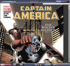 Digital superhero: Online back issues from Marvel cost $59.88 a year.