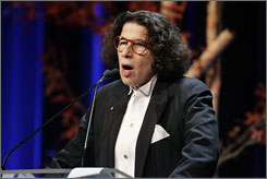 "Host Fran Lebowitz joked about ""solace"" for past Book Award losers like Catcher in the Rye and To Kill a Mockingbird."