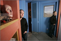 "The magician and his style: Teller says his maze of a Las Vegas home is ""a reflection of everything I wanted back when I was 12."""