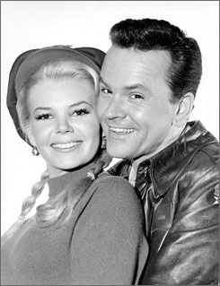Bob and Patricia Crane (aka Sigrid Valdis) starred together on the popular TV show Hogan's Heroes. They married on the show's set in 1970.