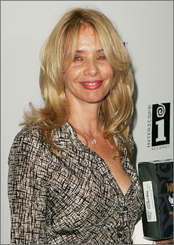 Rosanna Arquette has starred in films such as Desperately Seeking Susan, Crash and most recently, on the TV show What About Brian?
