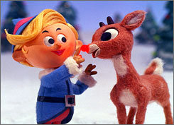 Rudolph: It's his 43rd TV anniversary.