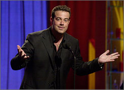 Carson Daly, who is not a member of the Writers Guild, will begin producing new episodes of his NBC late-night talk show Last Call with Carson Daly.