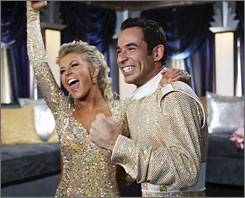 Julianne Hough and Helio Castroneves are the new Dancing With the Stars champs.