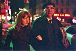 In the twilight of his life: Author Leonard Schiller (Frank Langella) meets grad student Heather (Lauren Ambrose), and nothing in his life is the same.