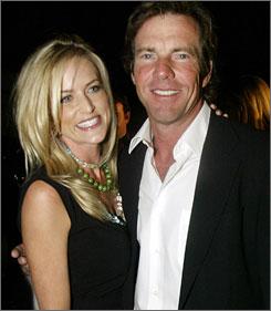 Kimberly Buffington Actor Dennis Quaid and wife Kimberly Buffington are suing Baxter ...