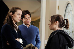 Navigating a new life: A childless couple (Jennifer Garner and Jason Bateman) are eager to adopt Juno's (Ellen Page) baby.