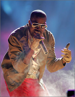 Best-album contender: Rap artist Kanye West may graduate yet.