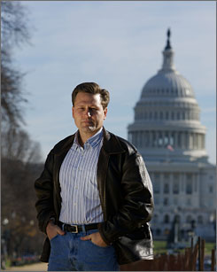 Stirring the pot in Washington, D.C.: David Baldacci novels never stray far from Capitol Hill. His latest, another best seller, is Stone Cold, in which a secret group helps hold the government accountable.