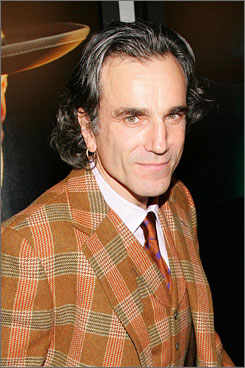 "Premiere night  in New York:  Daniel Day-Lewis  says he did There Will Be Blood , which opens  Dec. 26, because  director Paul  Thomas Anderson  asked him, ""and  that's all it took."""