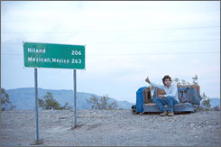 Emile Hirsch stars as Christopher McCandless in Sean Penn's Into the Wild.