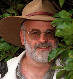 """I would have liked to keep this one quiet for a little while, but because of upcoming conventions and of course the need to keep my publishers informed, it seems to me unfair to withhold the news,"" Terry Pratchett wrote on a website."