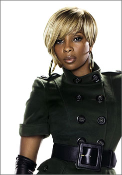 I am woman: Mary J. Blige is in command on her new album Growing Pains.