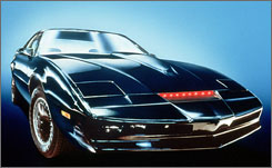 You can buy KITT on eBay, but the voice of William Daniels isn't part of the package. Nor is that high-tech semi where Michael Knight took the car for on-the-road tune-ups.