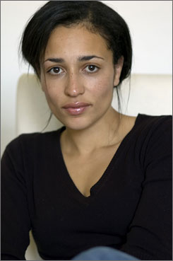 Zadie Smith: Help from her writer friends.