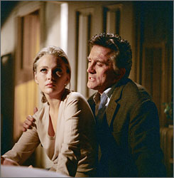 Modern angst: Kirk Douglas has an affair with Faye Dunaway in 1969's The Arrangement.