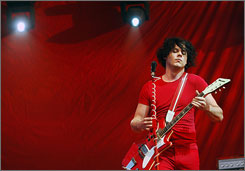"Song was ""irresistible"": Jack White of the White Stripes says he has wanted to cover Patti Page's hit, Conquest, for a decade."