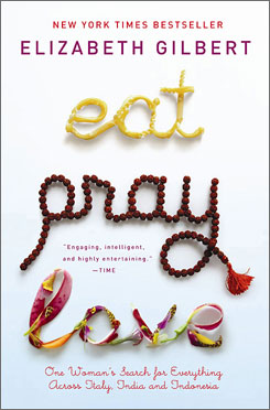 "Author Elizabeth Gilbert can add ""celebrate"" to her list of directives, as her book Eat, Pray, Love took the top spot on USA TODAY's Best-Selling Books list."