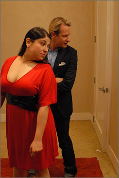 Premiering Friday: On his first show, Kressley teaches Layla Morrel how  to dress appropriately for her body type during a shopping trip.