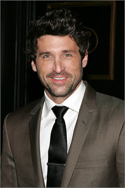 McDreamy: Patrick Dempsey is a hot doc on Grey's Anatomy.