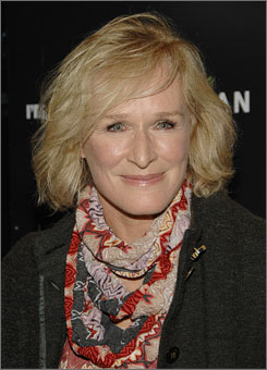 Glenn Close won best dramatic actress for her work on the FX show Damages.