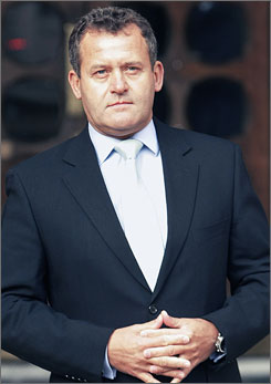 Paul Burrell, who served as Princess Diana's personal butler, denies he kept a journal while in her employ.