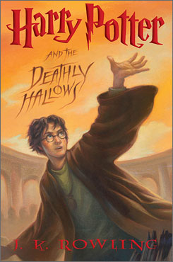Harry Potter and the Deathly Hallows is the last book in the famous series by J.K. Rowling.