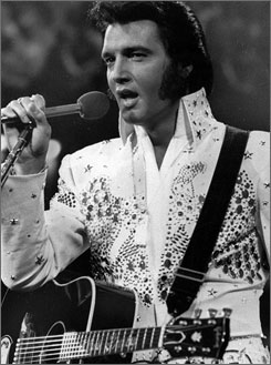 Costume designer Bill Belew, who crafted Elvis' famous eagle jumpsuit and black leather ensemble, died last week in  Palm Springs, Calif., at 76.