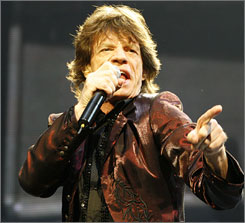 The Rolling Stones plan to release the soundtrack to their concert film, Shine a Light, on Universal Records rather than their longtime label, EMI.