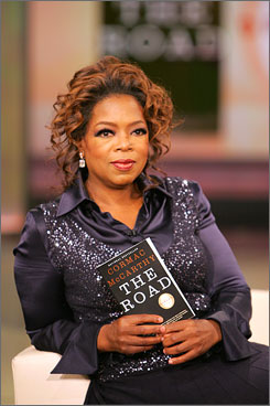 Oprah Winfrey chose The Road as one of her book club selections last year.