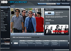 Log on and watch: Entourage is one of the series that will be offered on HBO On Broadband, which launches Tuesday in Milwaukee and Green Bay. 