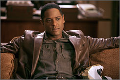 """An actor's paradise"": That's what Blair Underwood calls In Treatment,  in which he plays a Navy pilot who accidentally bombed a school in Iraq."