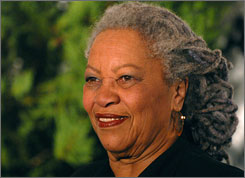 "Toni Morrison revealed her support fo rBarack Obama in a letter to the candidate in which she praised his ""keen intelligence, integrity and a rare authenticity."""