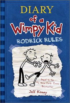 "Diary of a Wimpy Kid author Jeff Kinney says that growing up, he  ""was a regular kid who had my wimpy moments."""