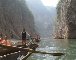 Up the Yangtze: Documentary about China's Three Gorges Dam was bought by Zeitgeist Films.